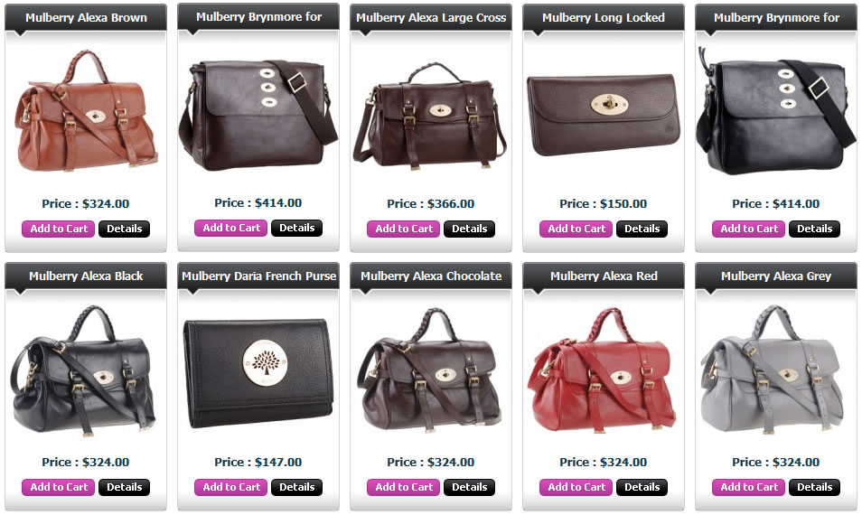 Mulberry Bags For Men